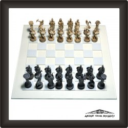 Chess Set - Greek Mythology1